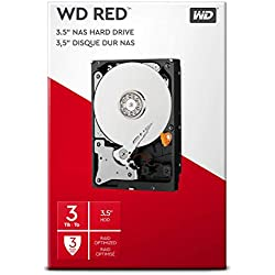 WD Red Kit Disque dur interne NAS 3 To 3,5 pouces SATA intellipower