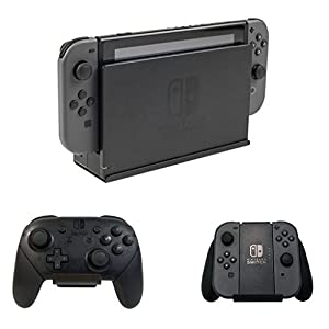 HIDEit Switch Mount – Nintendo Switch Dock Wandhalterung + 2 Controller Halterungen Bundle