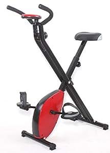 Vélo pliant vélo d'exercice magnétique vélo X Bike. Vélo d'appartement pliable