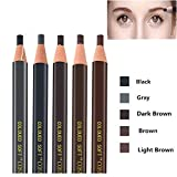 Pinkiou Augenbrauenstift Peel-Off Bleistift Augenbraue Marker Futter wasserdicht kosmetische Bleistift (5 Stück)