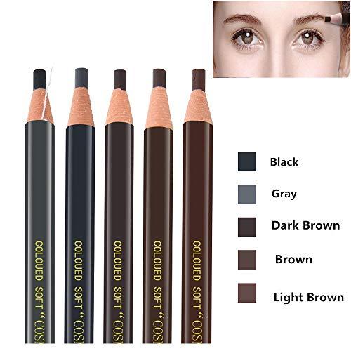 Pinkiou Augenbrauenstift Peel-Off Bleistift Augenbraue Marker Futter wasserdicht kosmetische...