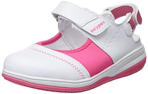 Oxypas Melissa, Women's Safety Shoes, White (Fux), 5 UK (38 EU)