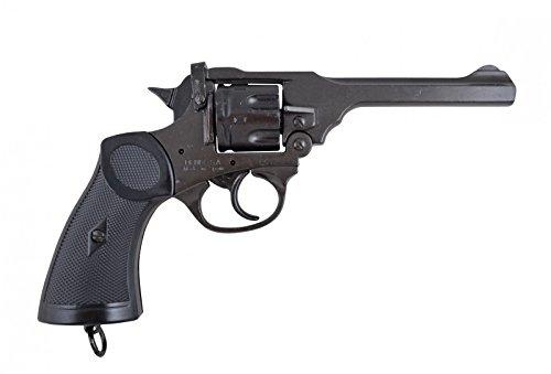 Denix Replik Webley MK 4 Revolver Waffe des Abenteurers Jones Kal. 38 -