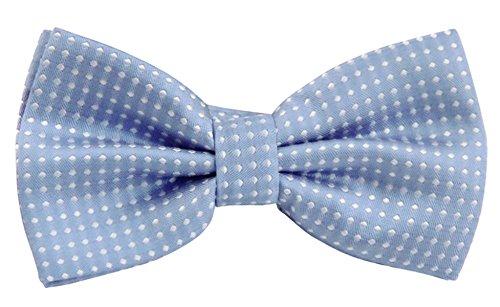 Panegy Nœud Papillon Cravate lavallière Homme Soirée Businesse Mariage Cérémonie Déco Fête Costume Bow Tie en Coton mélange Classique pour Complet 6*1