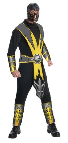 mbat Scorpion Costume Adult (Kostüm Von Scorpion)