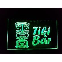 Tiki Bar Bombilla LED Cartel Cartel Cargar Reklame Neon Neon Cartel Pub Bar Disco