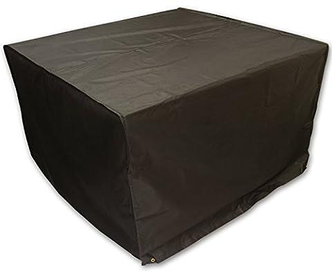 Woodside Heavy Duty Waterproof Rattan Cube Outdoor Garden Furniture Rain