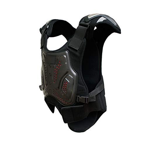 TZTED Snowboard Schutzkleidung Motorrad Damen Herren Motorrad Damen Herren Rückenprotektor zum Umschnallen Rollschuhlaufen,XXL