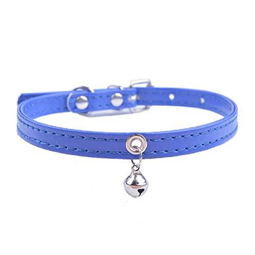 XCRIYX Collare Cucciolo per Piccoli Cani Lettini Pneumatici con Campana per Piccoli Gatti Medi Dimensioni Decorazione Bowtie 25MM/ H