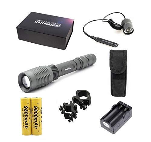 Linterna Trustfire Z5 ZOOM - 1 Led CREE XML-T6 1600lm Doble baterías 300-400...