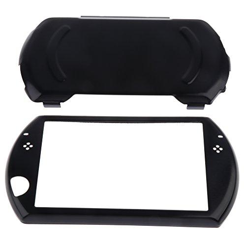 Sharplace Aluminium Protektor Gamepad Schutzhülle Schutz Gehäuse Controller Schutzcase für Sony PlayStation PSP Go Game Konsole Videospiel Zubehör - Schwarz
