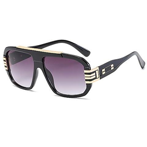 CVOO Newest Stylish Brand Square Frame Glasses Optical Male Large Clear Mens Designer Eyeglass Frames Black Men Spectacles