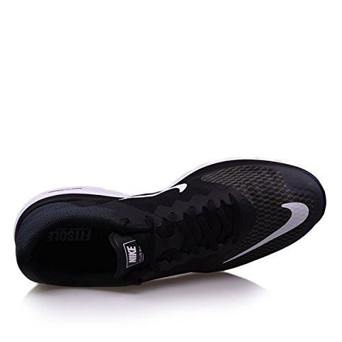 Nike Unisex-Erwachsene Wmns Fs Lite Run 3 Laufschuhe Schwarz (Anthrazit / Weiß-Schwarz)