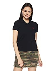 Levis Womens Plain T-Shirt (39638-0024_Black_X-Small)