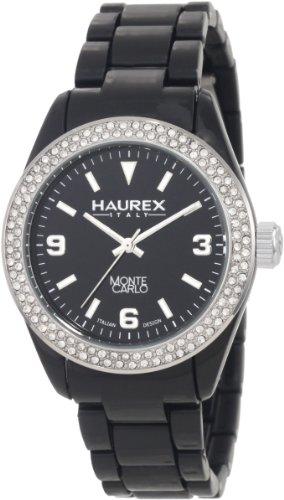 Haurex Italy PN360DN1 - Reloj para mujeres, correa de plástico color negro