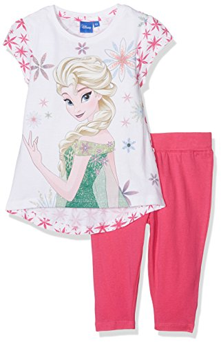 Disney Frozen Mädchen Pyjama-Sets 18-2436 TC Pink (Fushia), 4-5 Jahre