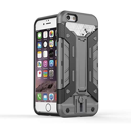 JIALUN-Telefon Fall IPhone6 ​​6s 4.7 Fall, PC + TPU abnehmbares 2 in 1 rückseitige Abdeckung Kühler Telefonkasten ( Color : 9 , Size : Iphone 4.7 ) 5