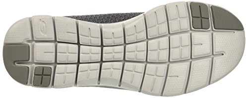 Skechers Herren Flex Advantage 2.0-cravy Sneaker Grau (carbone Di Legna)