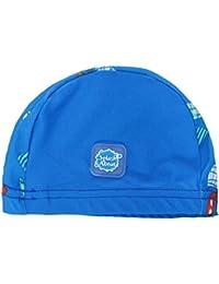 Splash About - Gorro de natación para niños, diseño de Marinero, 0-18Meses, Infantil, Color diseño de Barcos, tamaño 0-18 Months
