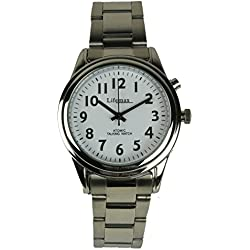 Lifemax/RNIB Ladies Talking Atomic Watch 407.3 with Bracelet