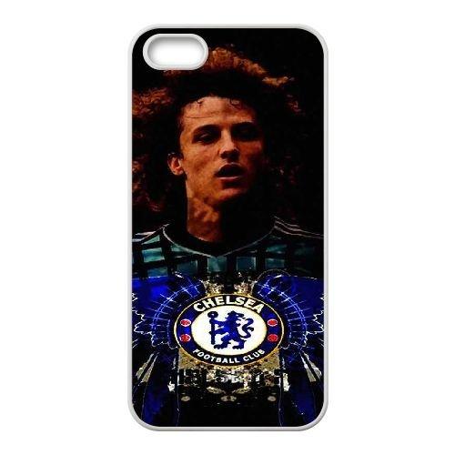 David Luiz coque iPhone 4 4S Housse Blanc téléphone portable couverture de cas coque EBDXJKNBO13161