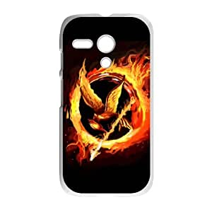 Motorola G Cell Phone Case White Hunger Games SUX_064114