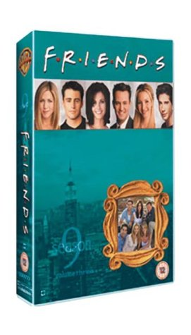Click for larger image of Friends: Series 9 - Episodes 9-12 [VHS] [1995]