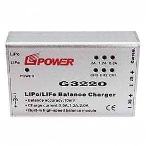 Haute Qualité G3220 Lipo / Life Balance chargeur pour Parrot AR.Drone 2.0