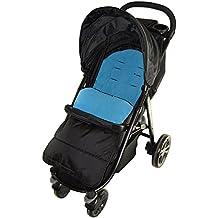 Saco/Cosy Toes Compatible con Britax carrito de bebé, color azul