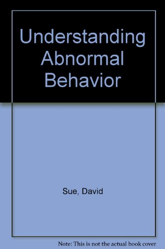 Understanding Abnormal Behavior