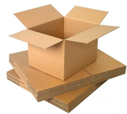 "Standard Heavy Duty Cardboard Packing Carton Boxes (14x14x14"" 356x356x356mm)"