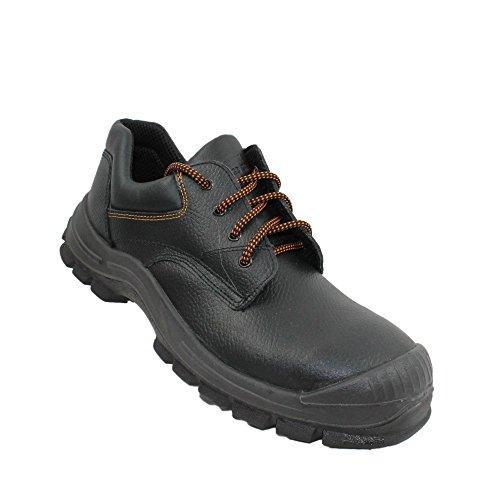 Lupriflex uK chaussures de sécurité norme s3 sRC chaussures berufsschuhe businessschuhe plat noir Noir - Noir