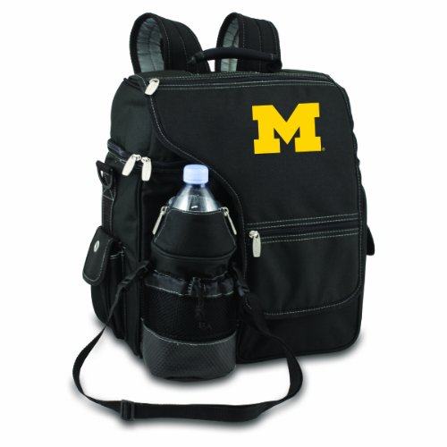 Picnic Time NCAA Michigan Wolverines Turismo Isolierter Rucksack Kühler Michigan Wolverines-laptop