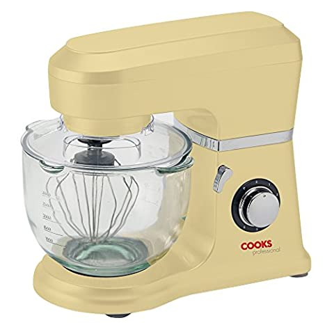 Cooks Professional 800W Electric Kitchen Stand Food Mixer 5L Bowl,