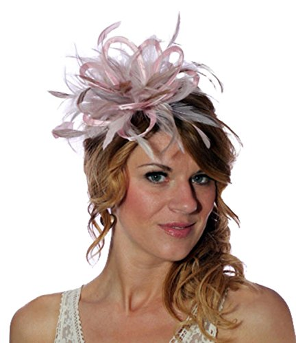 Maighread Stuart Millinery - Bandeau - Femme Multicolore - Baby Pink/Taupe Nude
