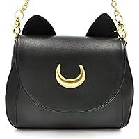 CoolChange Sailor Moon Handtasche aus PU-Leder mit Katzenohren,