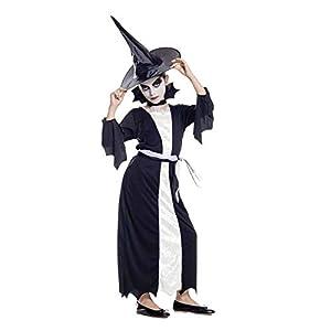 Générique-aq00105/M-Disfraz Elégante pequeña Bruja Talla M-7/9años, 140cm