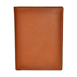 Chandair Pure Leather Tan Mens Wallet (W-7011)