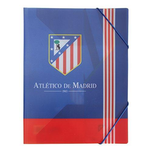 Ordner-fan (Ordner mit Atletico De Madrid FC Design, A4-Format (A4) (Blau/Rot))