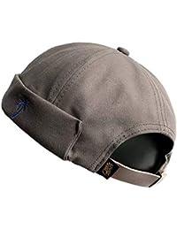 Clape Watch - Gorra de Trabajo Commando de Pana de Pana sin Llama con diseño de