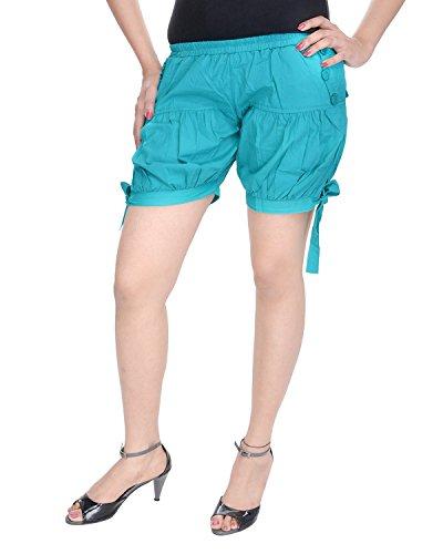 Soundarya - Short - Femme Bleu - Turquoise