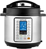 Nutricook Smart Pot Prime by Nutribullet 1200 Watts - 10 in 1 Instant Programmable Electric Pressure Cooker, 8