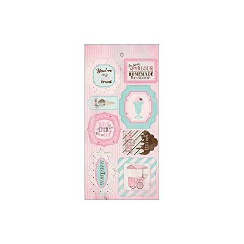 Paper Accents Cardstock (Sweetness Components Die-Cut Cardstock Accents 6