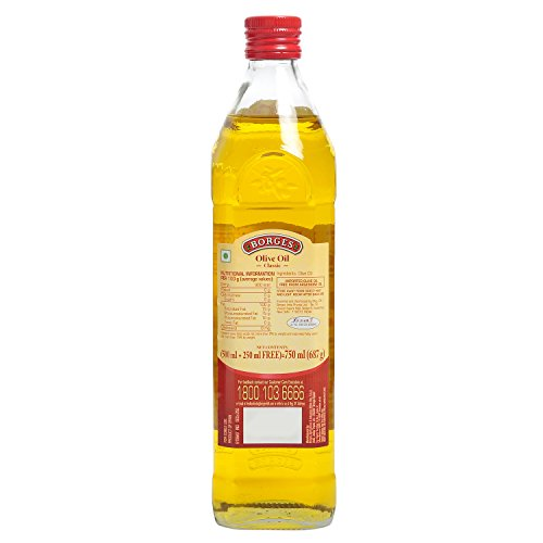 Borges Olive Oil Classic Glass, 750ml