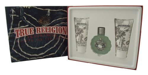 TRUE RELIGION EDP 50ML & B / S & B GEL 90ML / 90ML LTN - Lovestruck SET