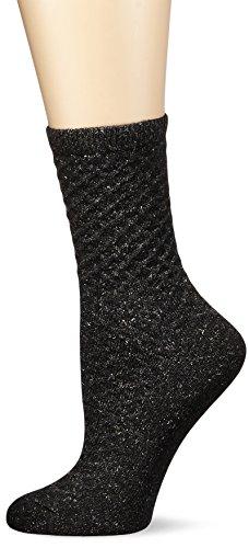 Merino Wolle Quarter Socken (Tommy Hilfiger Damen Socken TH Women Bootsock 1P, Grau (Anthracite Melange 030), 35/38 EU)