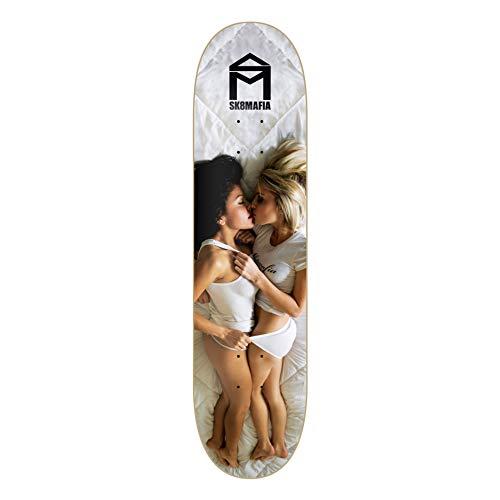 Unbekannt Sk8Mafia Skateboard Deck Girls Girls Girls Series Love 8.0