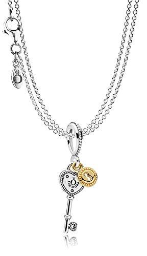 Pandora Collier mit Anhänger Schlüssel zu meinem Herzen 08393 Schlüssel-halskette