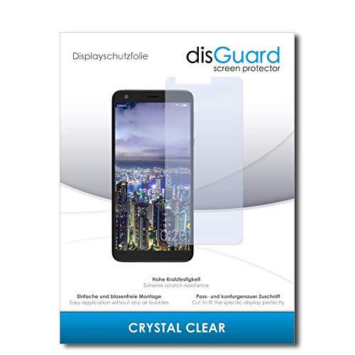 disGuard® Bildschirmschutzfolie [Crystal Clear] kompatibel mit Sharp Aquos B10 [4 Stück] Kristallklar, Transparent, Unsichtbar, Extrem Kratzfest, Anti-Fingerabdruck - Panzerglas Folie, Schutzfolie