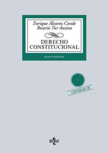 Derecho Constitucional: Contiene CD (Derecho - Biblioteca Universitaria De Editorial Tecnos) por Enrique Álvarez Conde